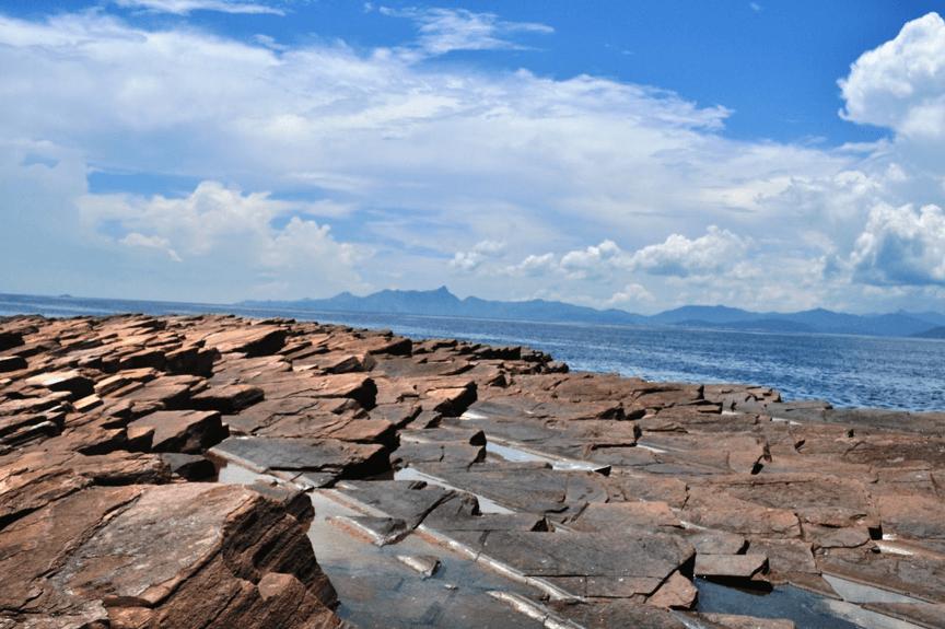 東平洲的沉積岩
