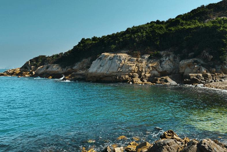 坪洲的海岸
